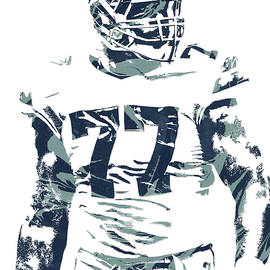 Joe Hamilton - TYRON SMITH DALLAS COWBOYS PIXEL ART 2