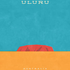 Uluru Ayers Rock Retro Tourism - Ivan Krpan