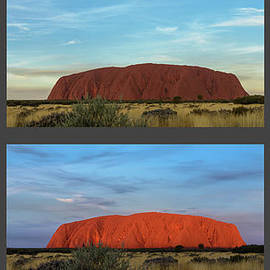 Werner Padarin - Uluru Sunset