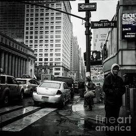 Umbrella Days - The City by Miriam Danar