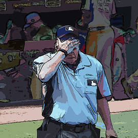 C H Apperson - Umpire Between Innings