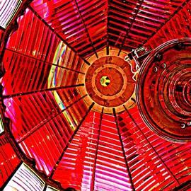 Nick Kloepping - Umpqua River Lighthouse Lens in HDR