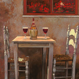 un fiasco di Chianti by Guido Borelli