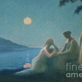Under a Moonbeam - Alphonse Osbert
