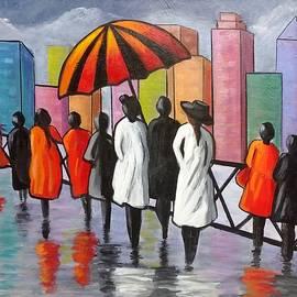 Under my Umbrella by Rosie Sherman