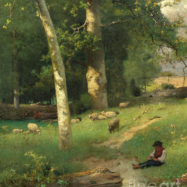Under the Greenwood - George Inness Jnr
