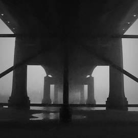 Under The Old Sakonnet River Bridge by David Gordon