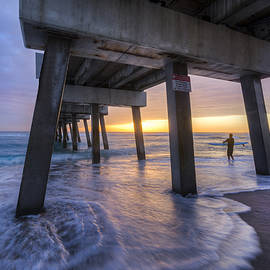 Under the Pier by Debra and Dave Vanderlaan