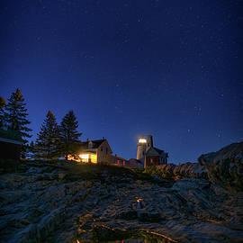 Under the Stars at Pemaquid Point - Rick Berk
