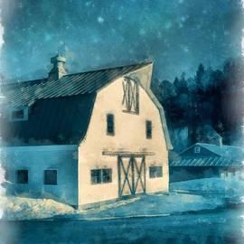 Under the Vermont Moonlight Watercolor - Edward Fielding