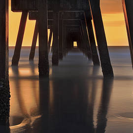 Jason Politte - Underneath the Pier - Jacksonville Beach - Florida - Sunrise