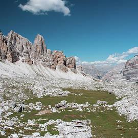 Nicola Simeoni - UNESCO. Dolomites. Towards the Tofane. Excursion between the peaks of God