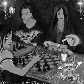 Raphael Lopez - Unexpected Company - Black and White Fantasy Art
