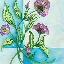 Breena Briggeman - Unfinished Floral Original