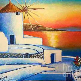 Viktoriya Sirris - Unforgettable Santorini