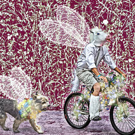 Unicorn and Doggie Fairies by Lise Winne