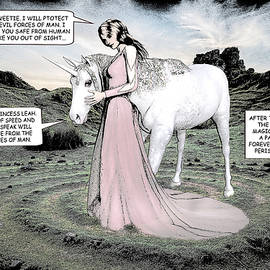 Solomon Barroa - Unicorn Comic Illustration1