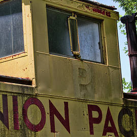 Union Pacific Caboose Crow's Nest by Alana Thrower