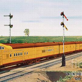 Walter Colvin - Union Pacific Streamliner City of Denver