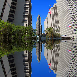 Tina M Wenger - Union Square tall buildings