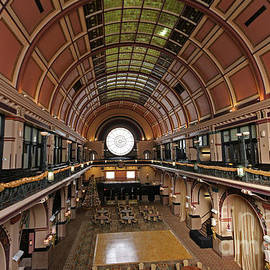 Union Station Grand Hall Indianapolis by Steve Gass