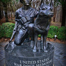 Paul Ward - United States War Dog Memorial