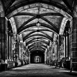 University of Toronto Knox College Cloister No 1 by Brian Carson