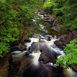 Unnamed Falls by Gregory Berger