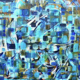 Larry Calabrese - Untitled Abstract Cubes