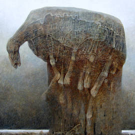 Untitled Ho by Zdzislaw Beksinski
