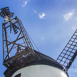 Unusual View of Windmill