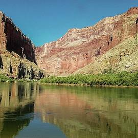 Up The  Colorado River from Littlle Nankoweap Beach by NaturesPix