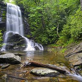 Upper Catawba Falls - North Carolina Waterfalls Series by Matt Plyler