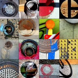 Marlene Burns - Urban Abstracts circles