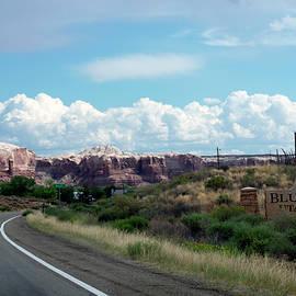 Thomas Woolworth - US 191 Entering Bluff Utah Signage Established 650 AD