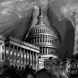 Capitol Building, Washington, D.c-009 by Gull G