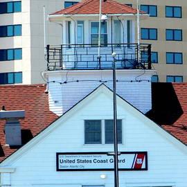 US Coast Guard Station - Atlantic City by Arlane Crump