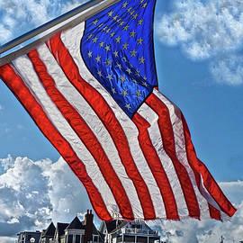 Joan Reese - US Flag,Ocean Grove,NJ Flag