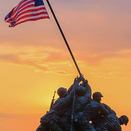 US Marine Corps War Memorial 4 by Henk Meijer Photography