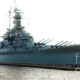 USS ALABAMA BB-60, Battleship, WWII, World War Two - Baltzgar