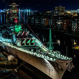 Uss Wisconsin by Pete Federico