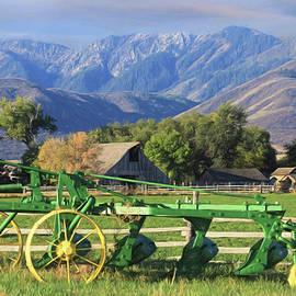 Utah Farm by Donna Kennedy