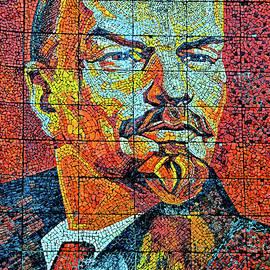 Andy Za - V. I. Ulyanov. Mosaic. Sochi Park.