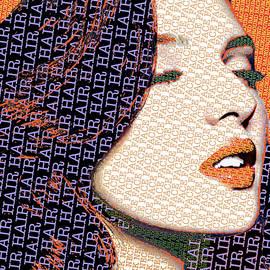 Vain Portrait Of A Woman 2 by Tony Rubino