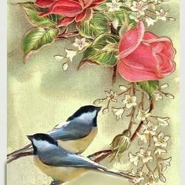 Valentine Day Vintage Postcard by Janette Boyd