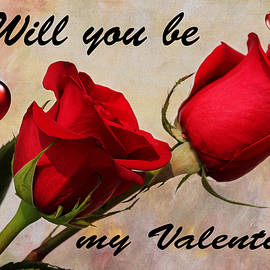Valentine Roses by Judy Vincent