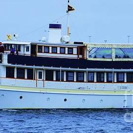 Valiant, A Luxury Yacht In Boston by Poet's Eye