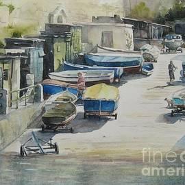 Diane Agius - Valletta Boat Houses