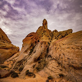 Janis Knight - Valley of Fire at Rainbow View