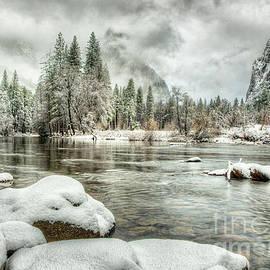 Valley View Winter Storm Yosemite National Park by Wayne Moran